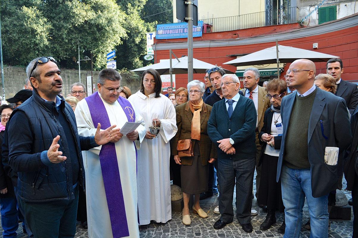 Momento della cerimonia in memoria dei Caduti - Tutte le foto sono di CRUDIEZINE.IT