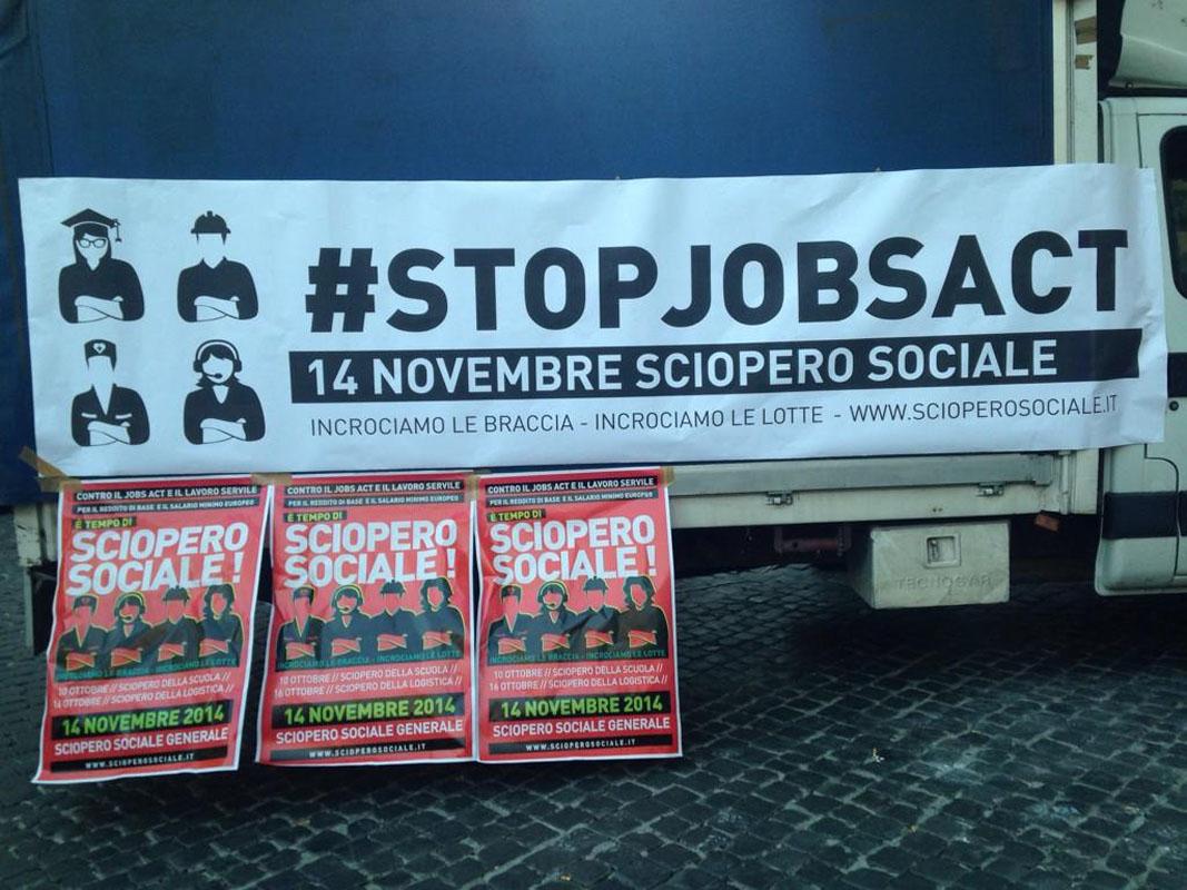 Verso lo sciopero sociale del 14 novembre