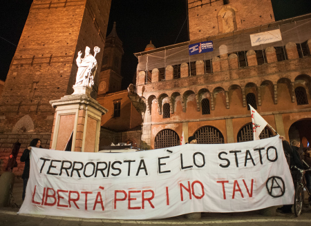 Manifestazione NoTav - Foto di Michele Lapini