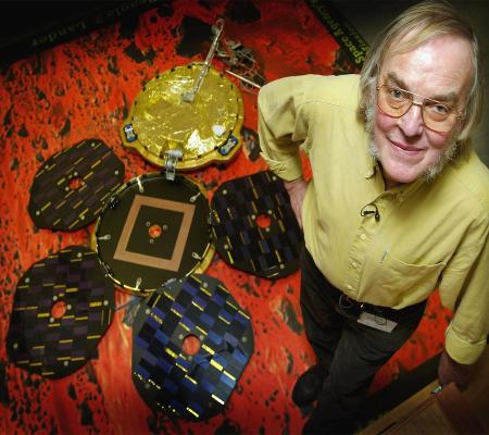 """Colin Pillinger e la sonda """"Beagle 2"""""""