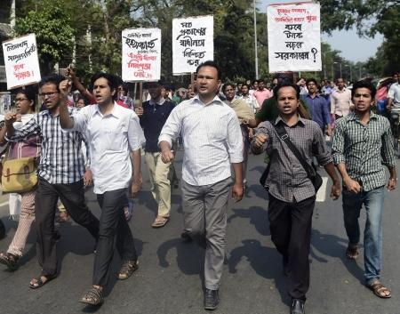 Le proteste in Bangladesh