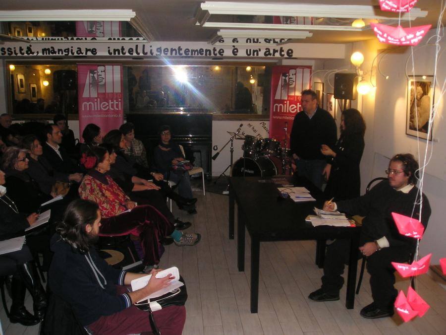 Presentazione attività editoriali Homo Scrivens - Teatro Bellini, 6 febbraio 2015