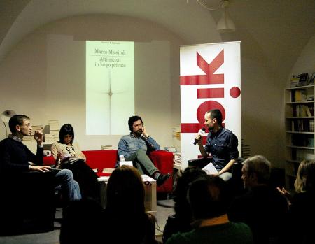 Presentazione libro di Marco Missiroli - Foto di Francesca Roberto