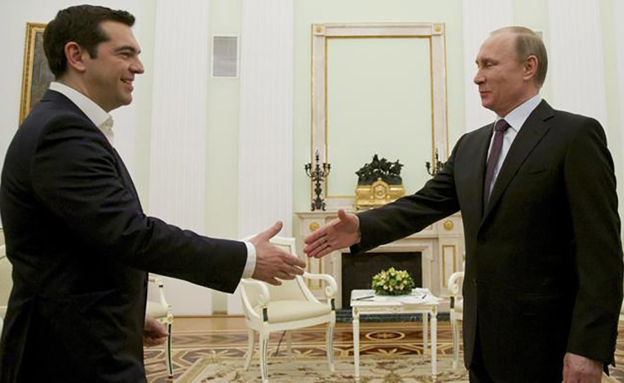 Tsipras e Putin