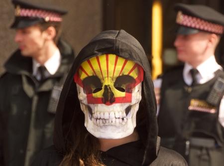 manifestante ambientalista