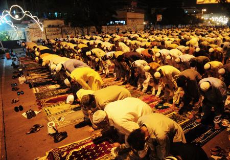 Preghiera durante Ramadan