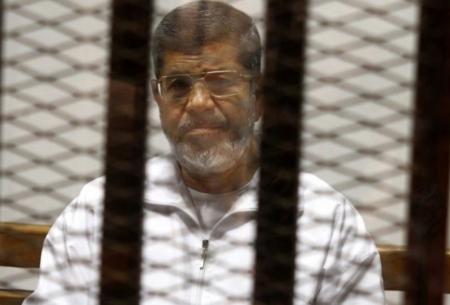 L'ex presidente egiziano Morsi, detenuto dal 2013
