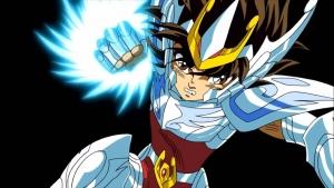 Personaggio animato di ''Pegasus'', doppiato da Ivo De Palma, protagonista della saga ''I Cavalieri Dello Zodaico.''