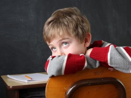 I ragazzi ADHD hanno grandi difficoltà a scuola.