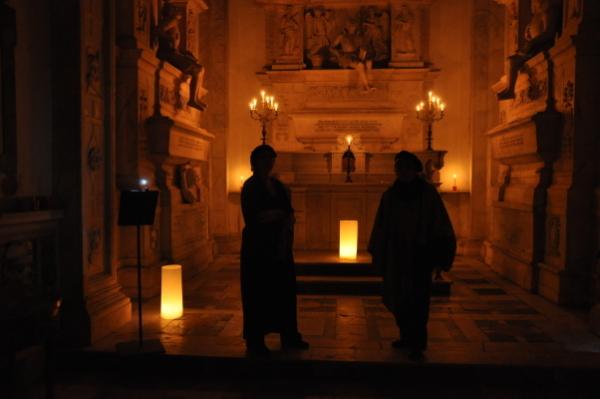 Rappresentazione in cappella Sanseverino