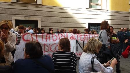 Manifestazione di Napoli Sociale