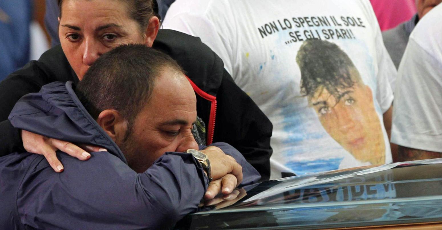 Funerale Davide Bifolco