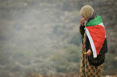 Donna palestinese