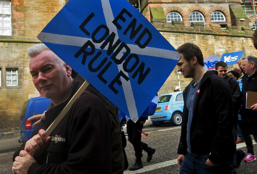 "Fronte del ""Yes"" in Scozia"