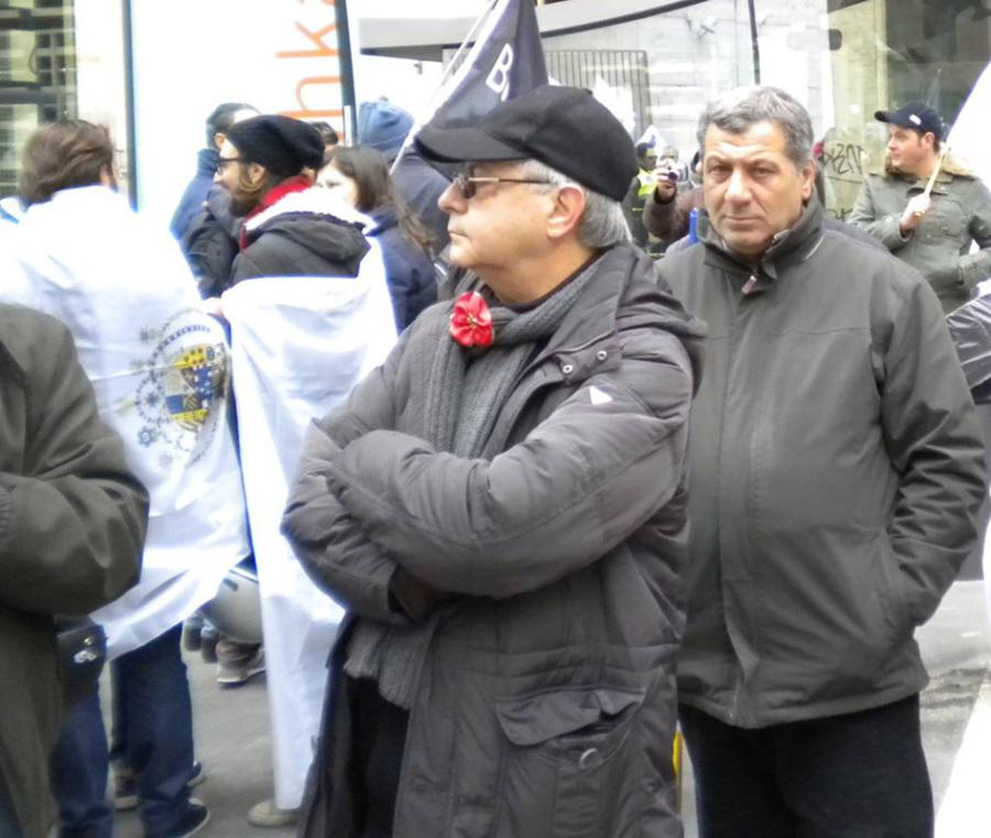 Vincenzo Gulì in piazza