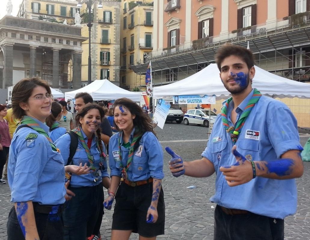 Giovani in piazza