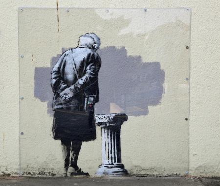 Art buff di Banksy