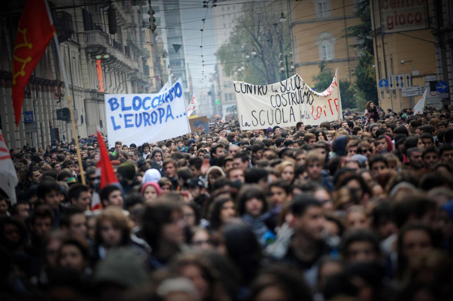 Manifestazione, foto di Fabio Ferrari