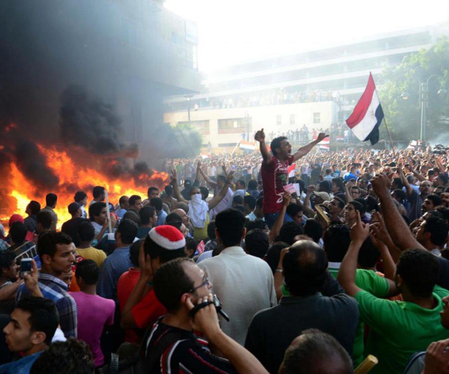 Manifestazioni studentesche in Egitto