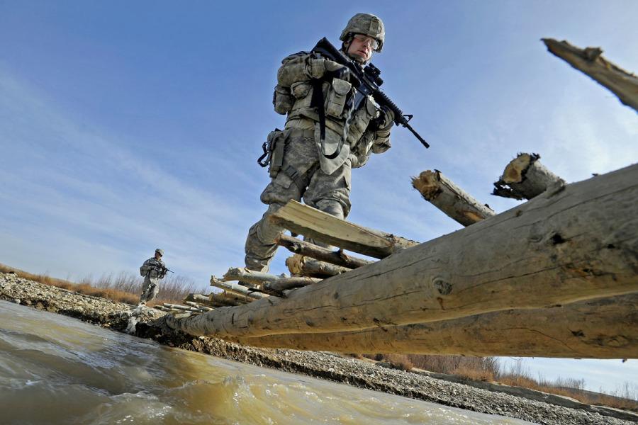 Soldati USA schierati in Lettonia