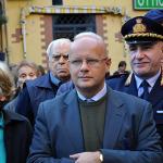 Assessore al Patrimonio del Comune di Napoli Alessandro Fucito e il Comandante della polizia Municipale di Napoli Ciro Esposito.