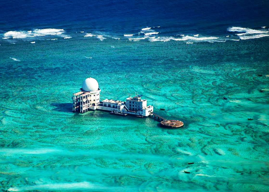 Stazione radar cinese nelle isole Spratly