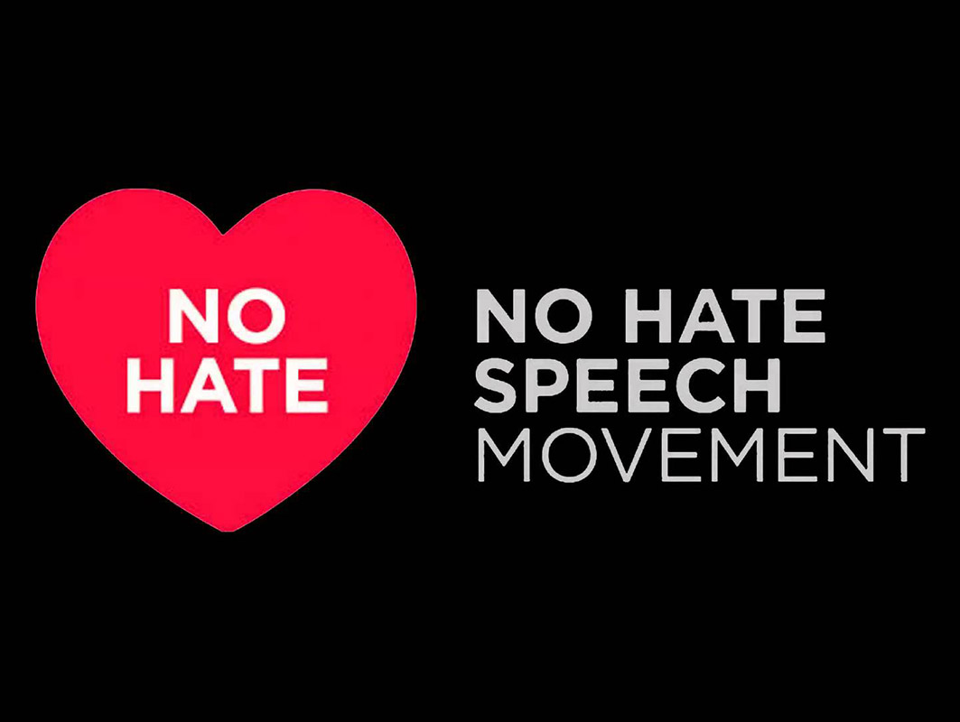 No hate speech - No all'odio