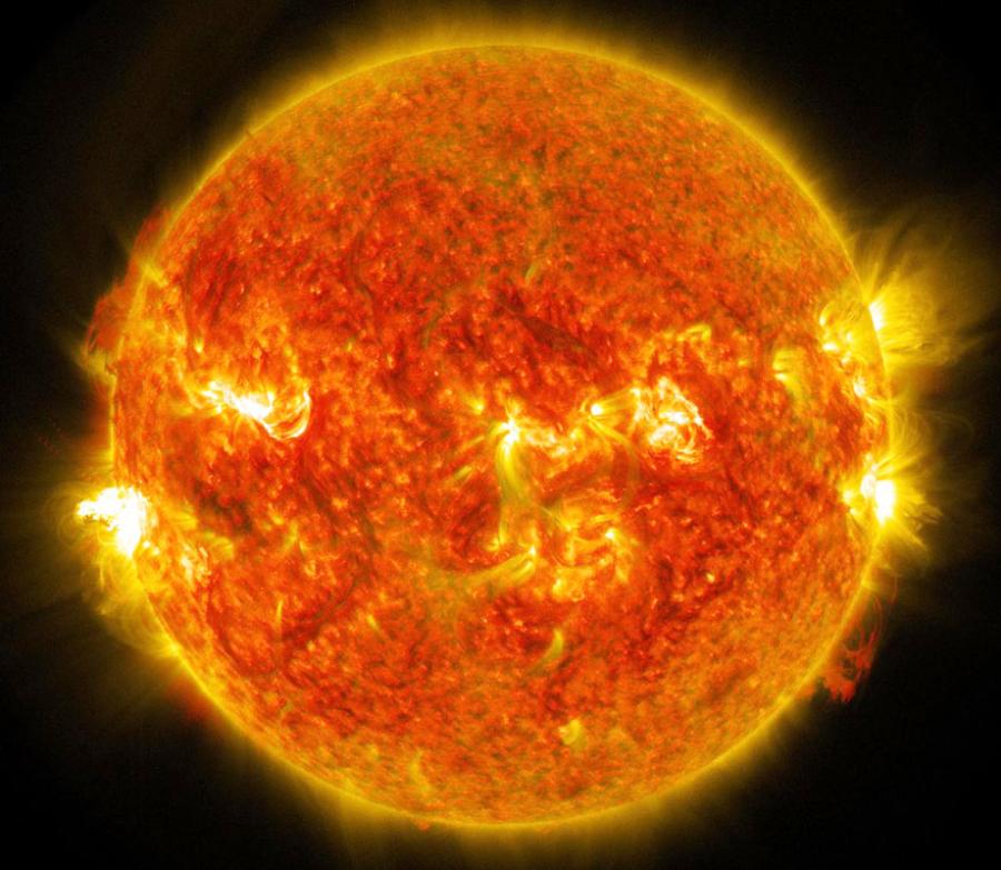 Effetti eruzione solare