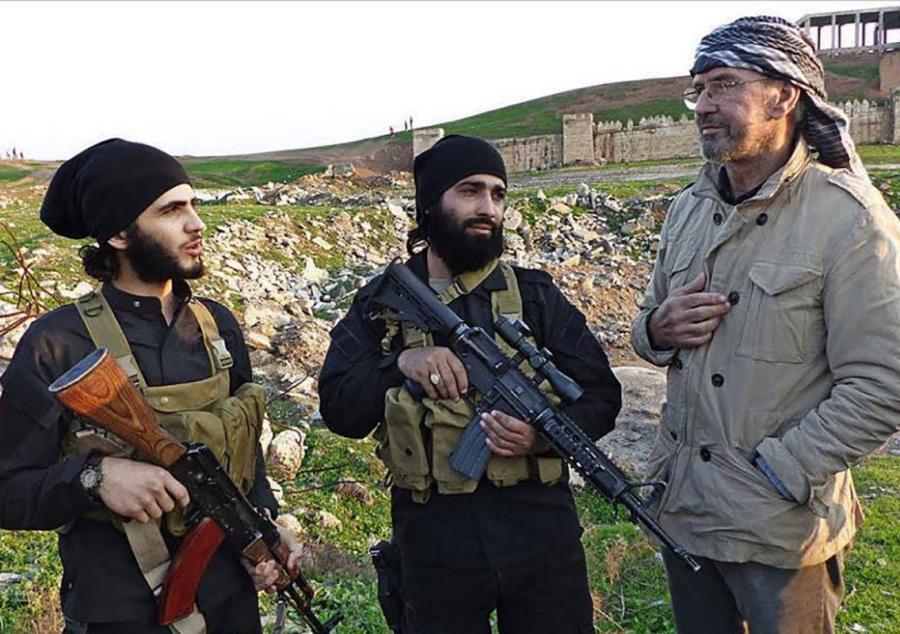 Todenhöfer in Turchia nel suo viaggio dentro l'ISIS