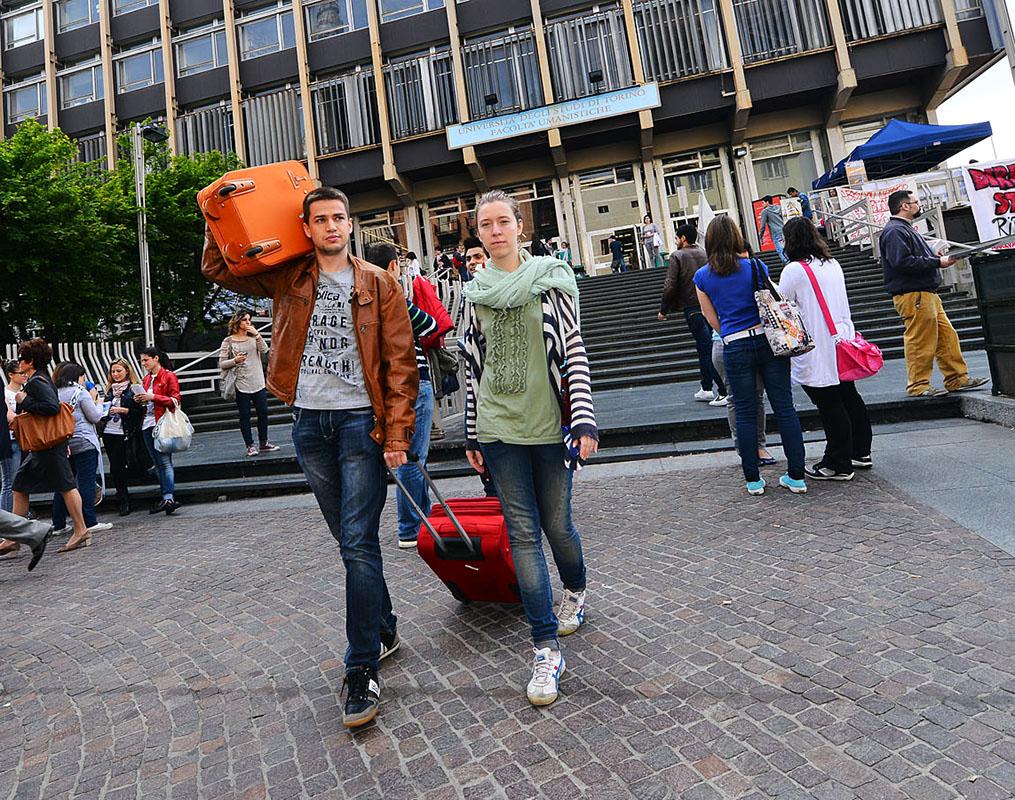 Giovani dall'università all'estero