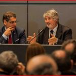 Il Ministro Poletti, del Governo Renzi, con Buzzi