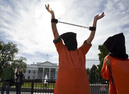 Proteste davanti la Casa Bianca