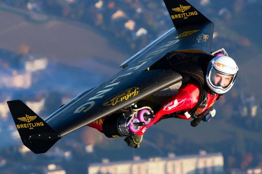 Jetman in volo
