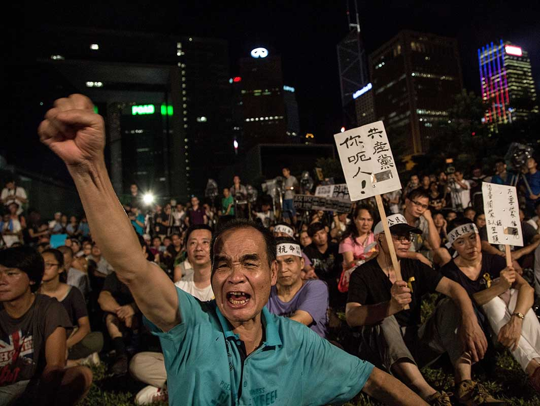 Il movimento Occupy Central