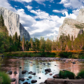 Parco Yosemite in California