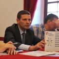 Enrico Maria Fantaguzzi a un convegno