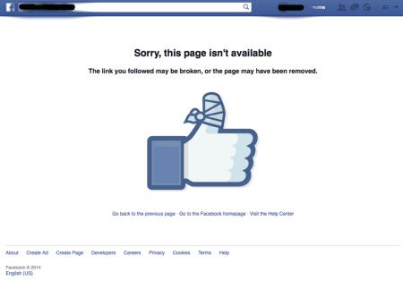 Facebook il censore