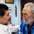 I due Leader, Fidel Castro e Diego Armando Maradona