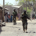 Militanti di Boko Haram nei villaggi nigeriani