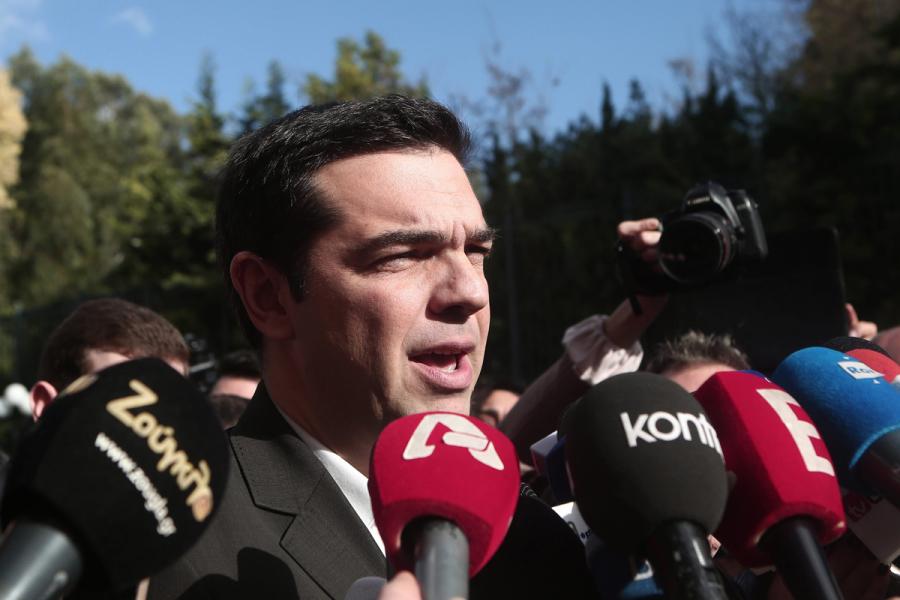 Alexis Tsipras, leader di Syriza