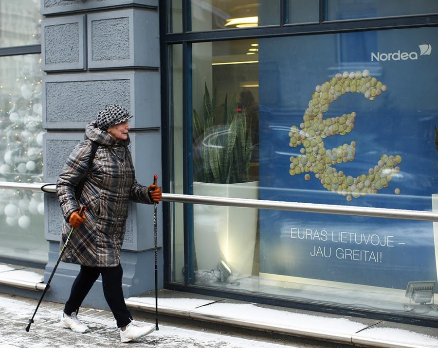 Arriva l'Euro, avvisate i Lituani!
