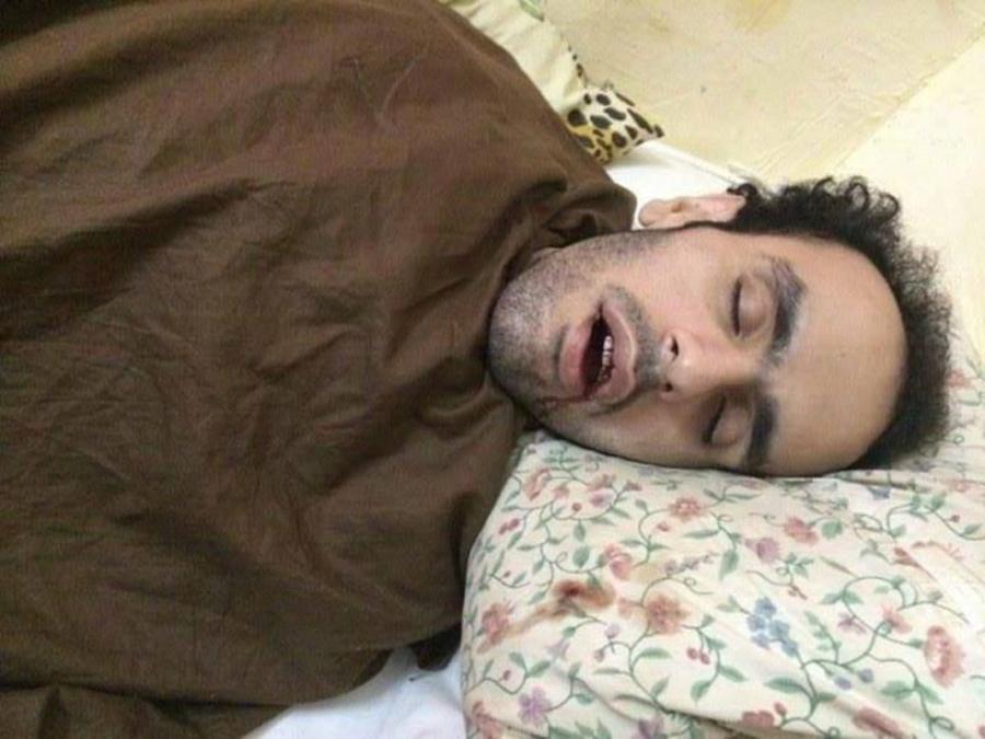 Mohamed Soltan, attivista in sciopero della fame da un anno