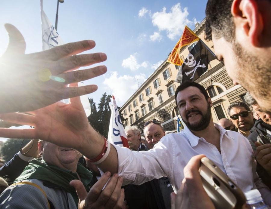 Matteo Salvini a Roma
