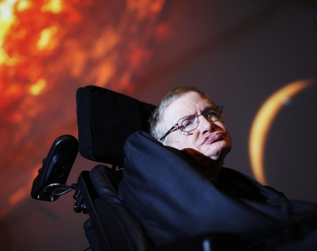L'astrofisico Stephen Hawking