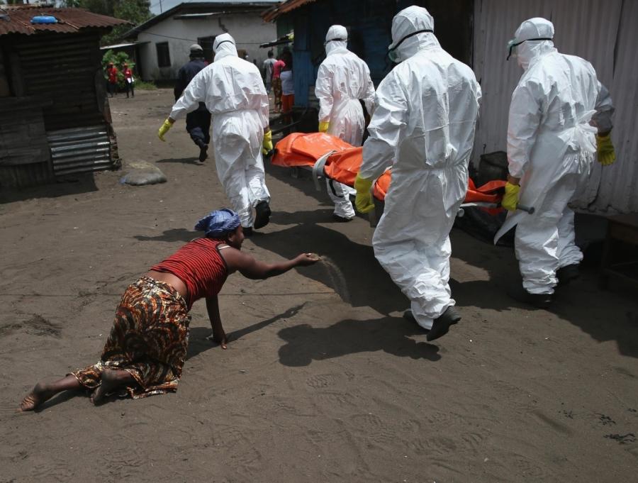 Un contagio da Ebola