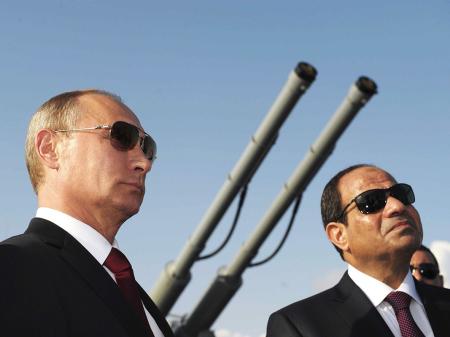Putin e Al Sisi