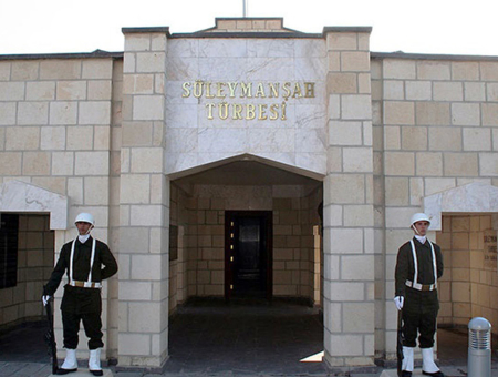 Mausoleo in Siria di Suleyman Shah