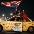 Proteste contro il razzismo della polizia americana.