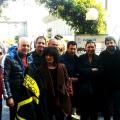 Gruppo di Discontinui con Paola Nugnes, Vega Colonnese e Roberto Fico