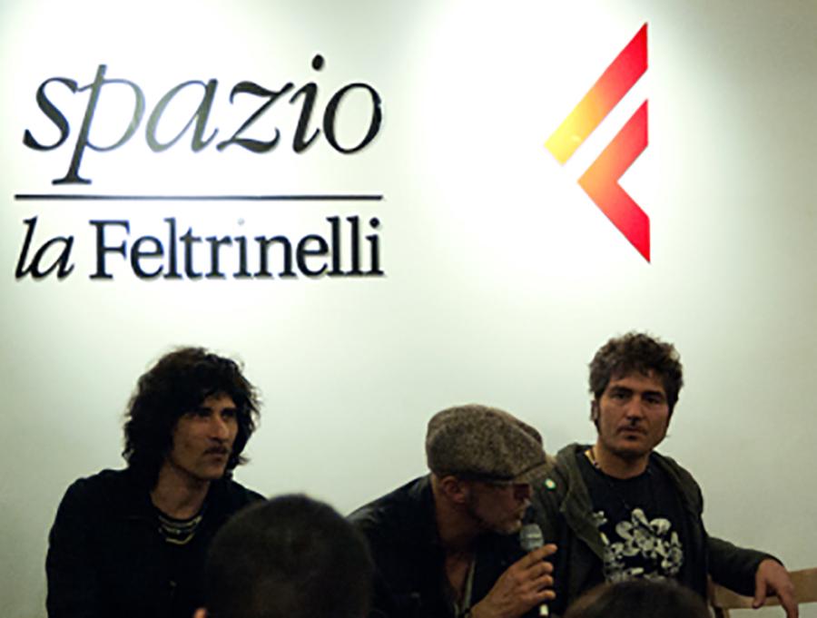 I Negrita alla Feltrinelli - Foto di Francesca Roberto.